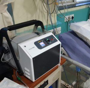 A ventilator device called RespirAID