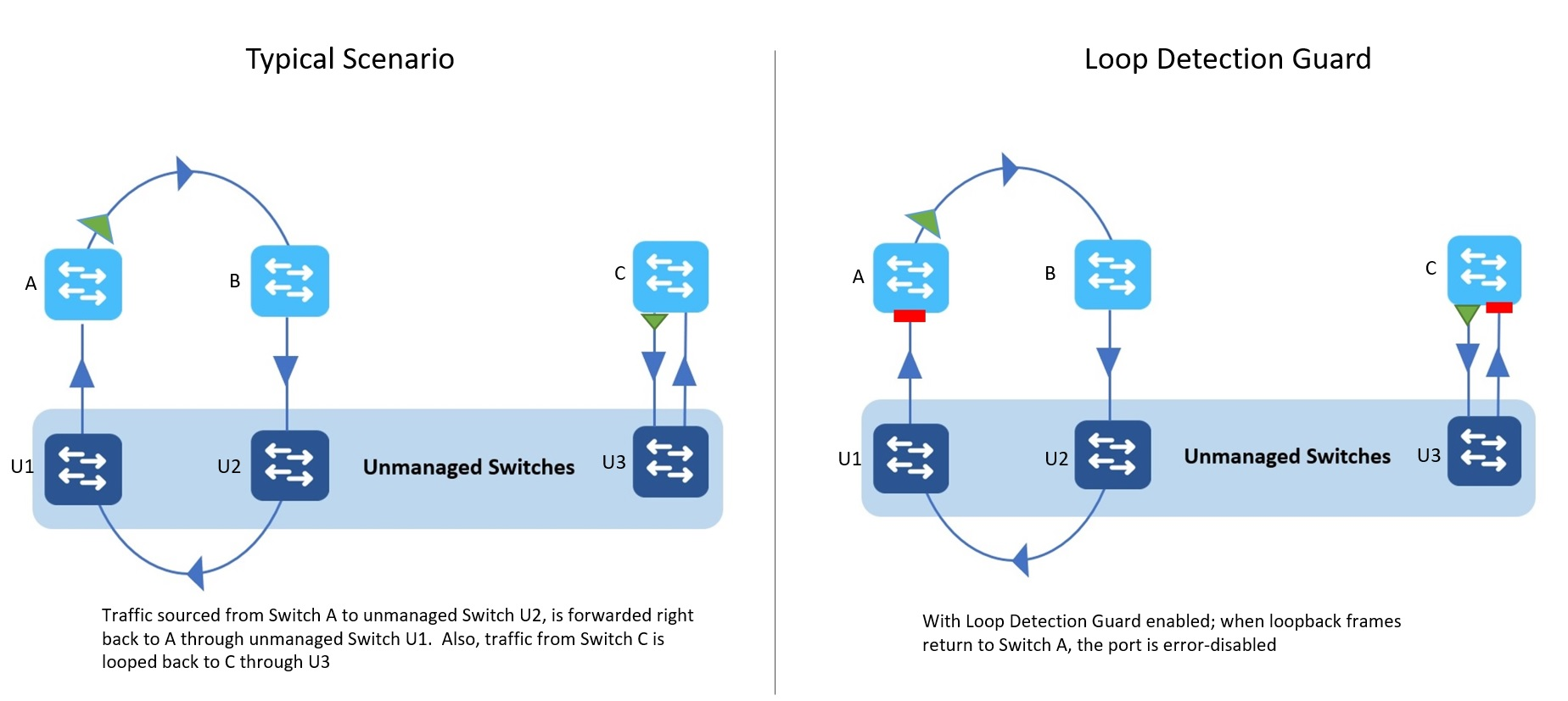 How Does Loop Guard Detection Work?