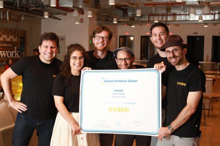 The team behind ZzappMalaria