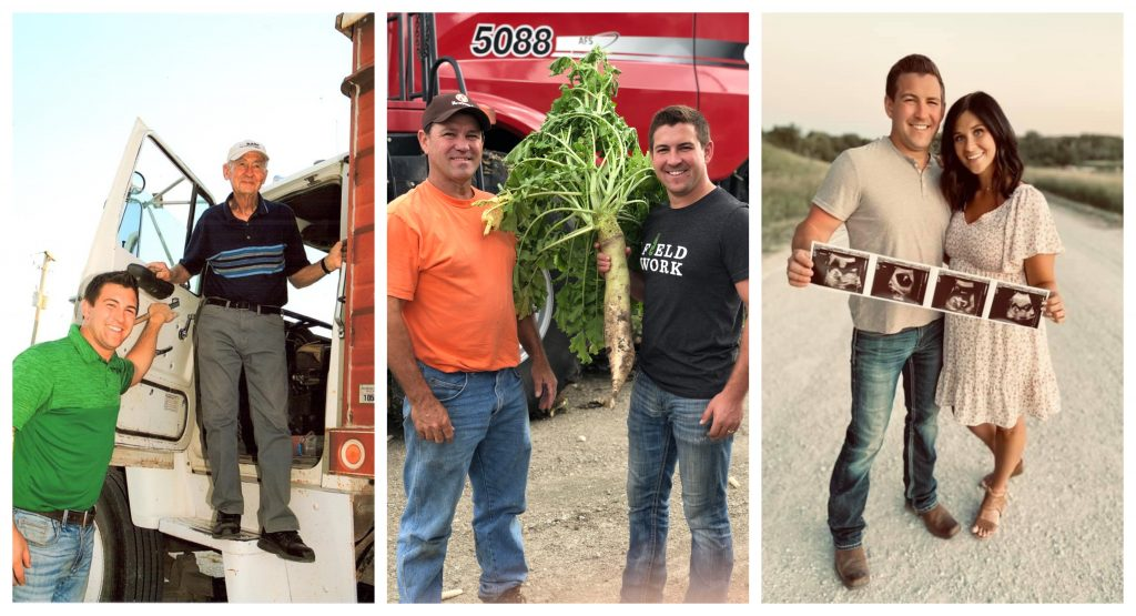 CEO of Continuum Ag with various family photos