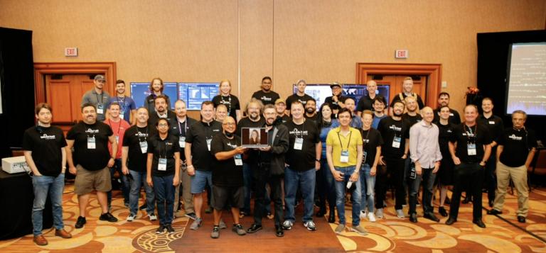 Group photo of Black Hat USA NOC 2021 team