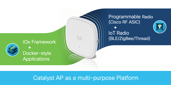 Catalyst AP as multi-purpose platform
