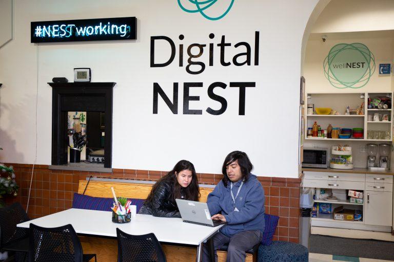 The Digital NEST Watsonville center