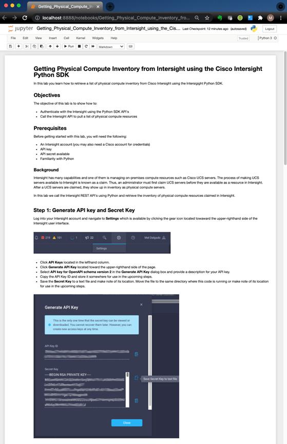 Jupyter Notebooks on Cisco