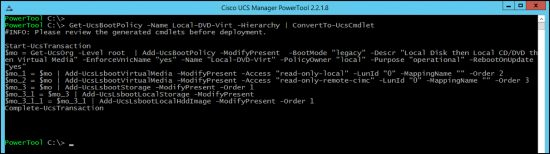 ConvetTo-UcsCmdlet Output