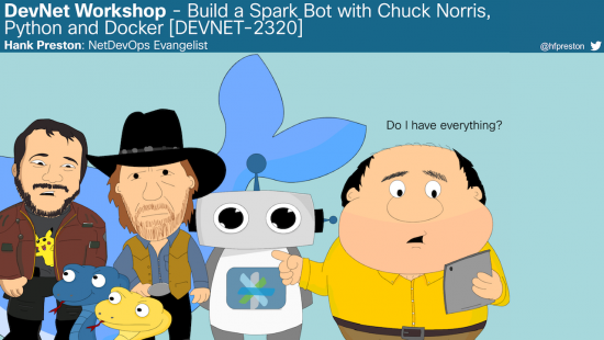 Chuck Norris Chat Bot Workshop