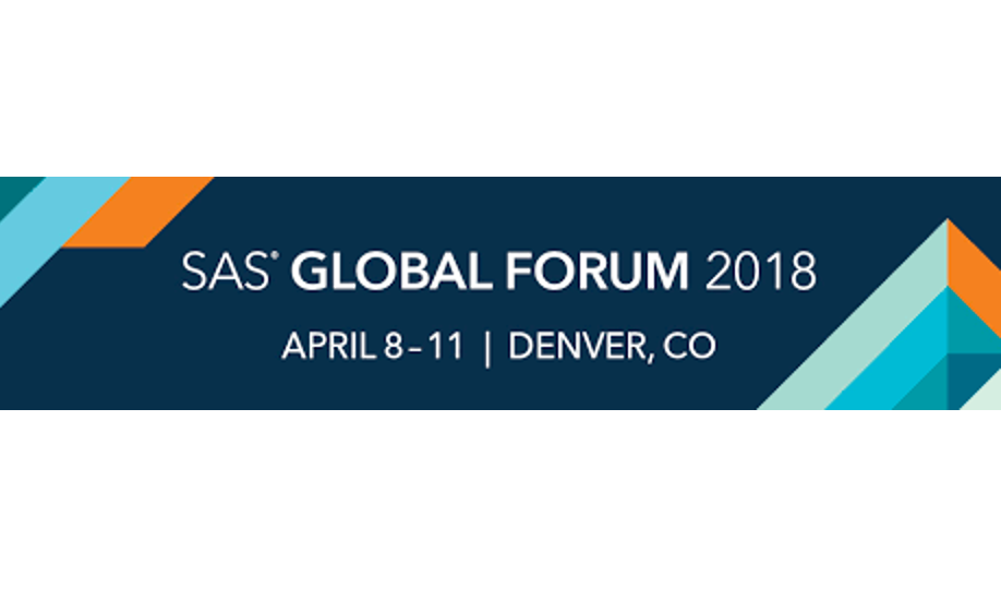 Cisco UCS Big Data and Analytics Solutions at SAS Global Forum 2018