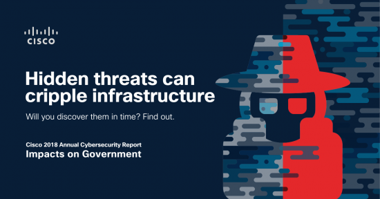 Cisco annual cybersecurity report government ransomware