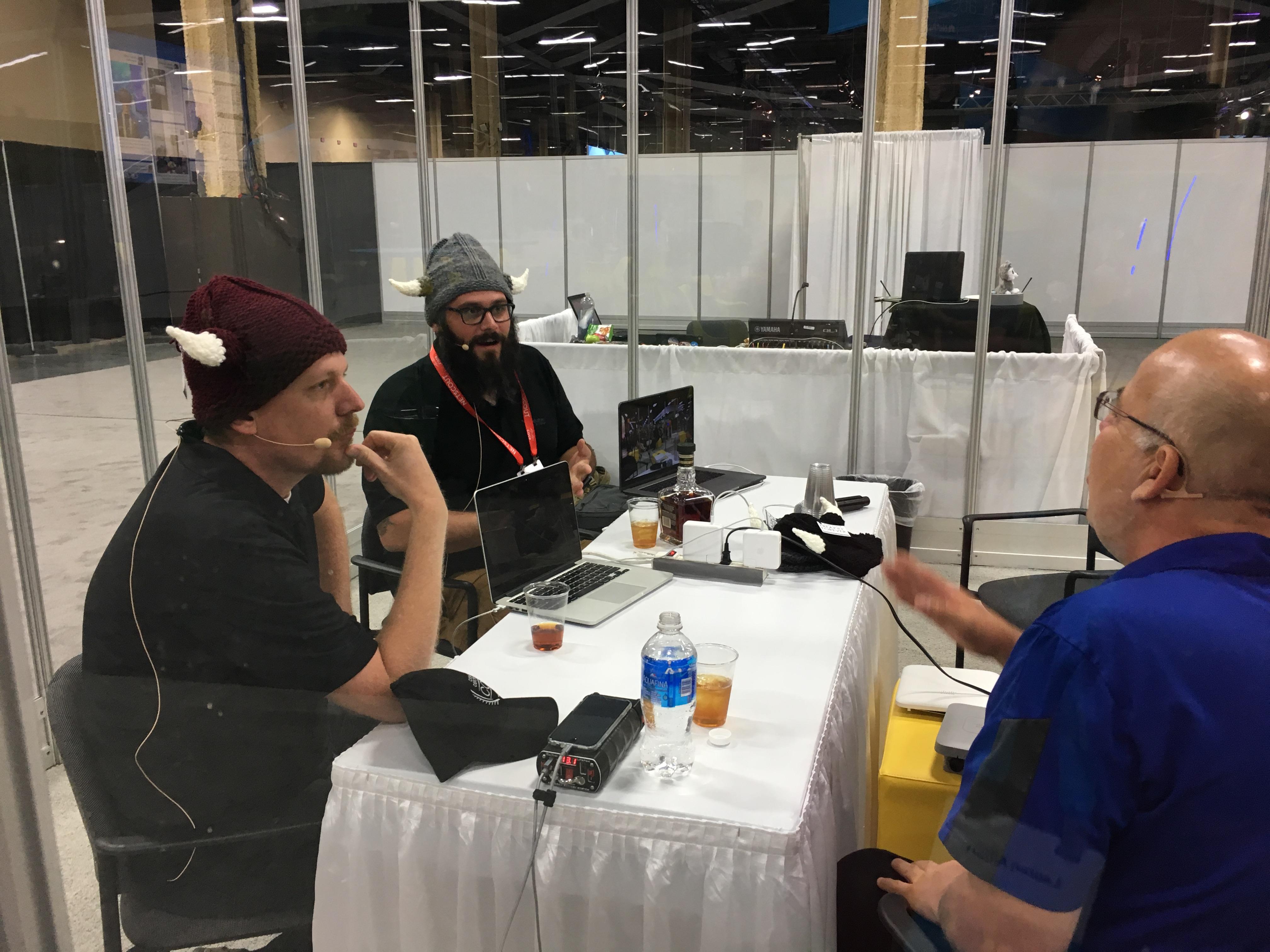 Cisco Champions Podcasting at CLUS