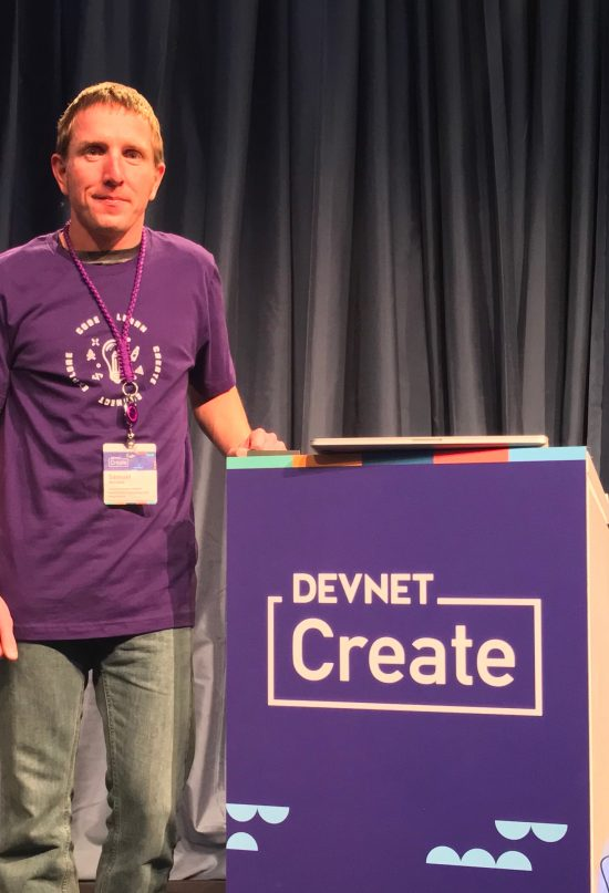 Sam Womak at DevNet Create 2018