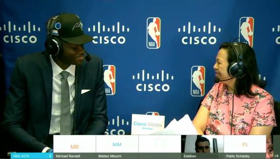 Mo Bamba at 2018 NBA Draft