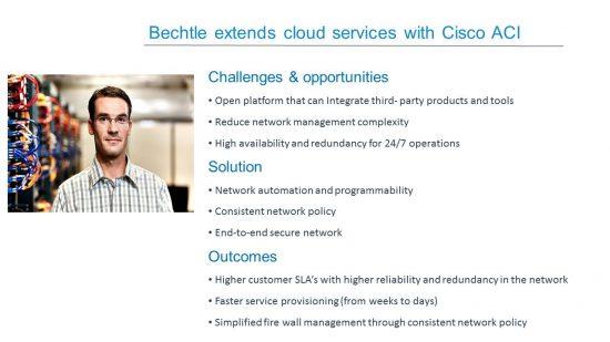 Bechtle extends cloud services with Cisco ACI