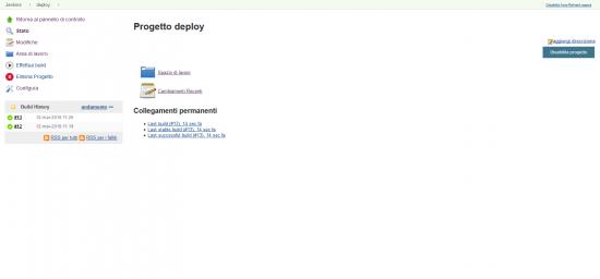 Jenkins: deployment of the PetClinics application through CloudCenter