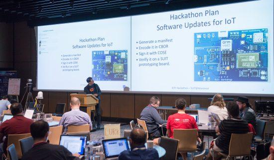 IETF hackathon Montreal, IoT