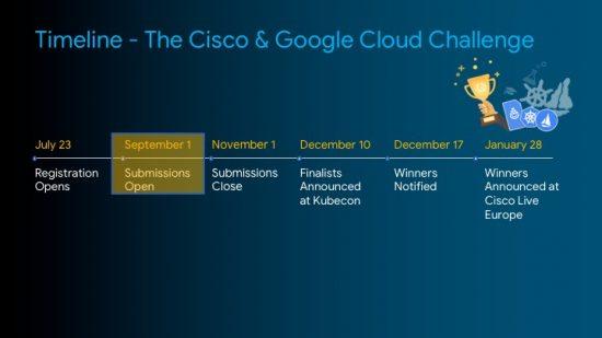 Cisco and Google Challenge