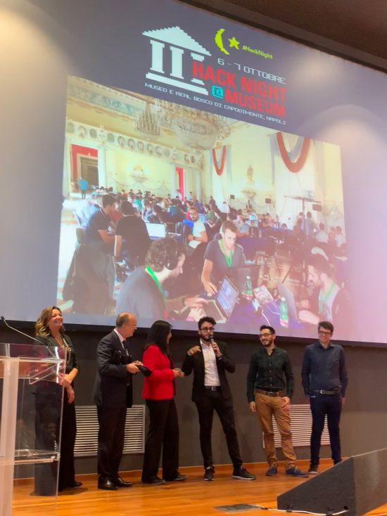 Naples hackathon winners