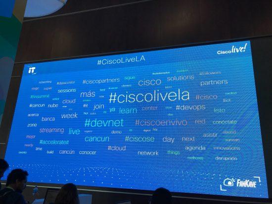 Cisco Live Latin America social media leaders DevNet