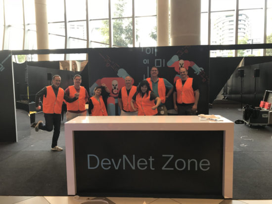 DevNet Zone Builders at Cisco Live Melbourne