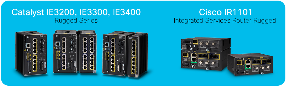 Cisco Catalyst IE3x00 Rugged Series-Cisco IR1101 Integrated Services Router Rugged