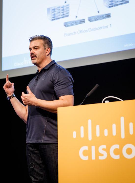 John McDonough speaker at Cisco Live DevNet