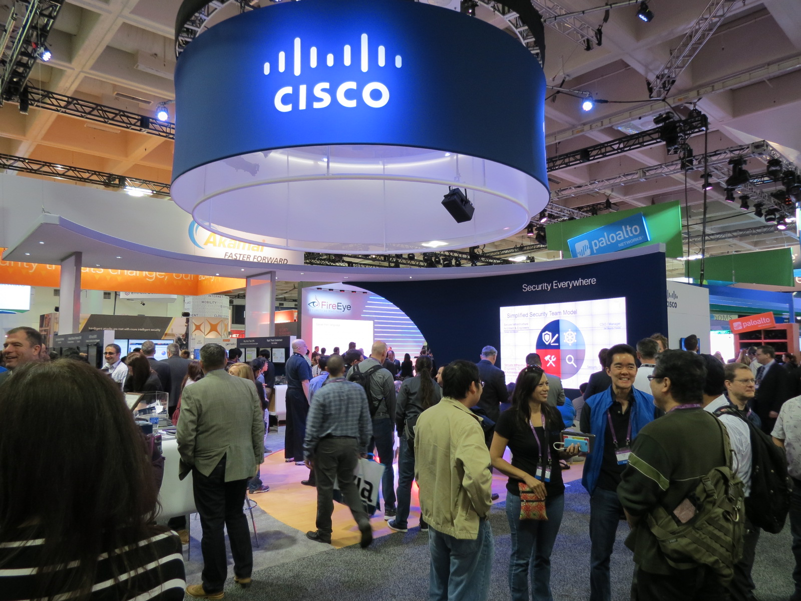 Cisco Security at Work: Threatwall at Mobile World Congress 2019