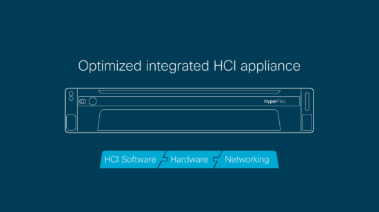 Cisco HyperFlex provides a complete and simple HCI solution