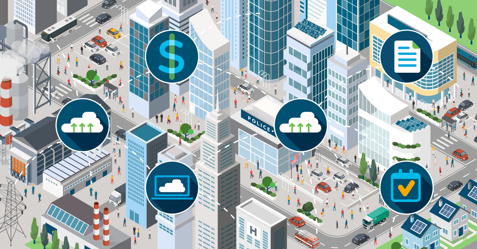The evolution of Smart Cities: big data, digital transportation, and smart policies