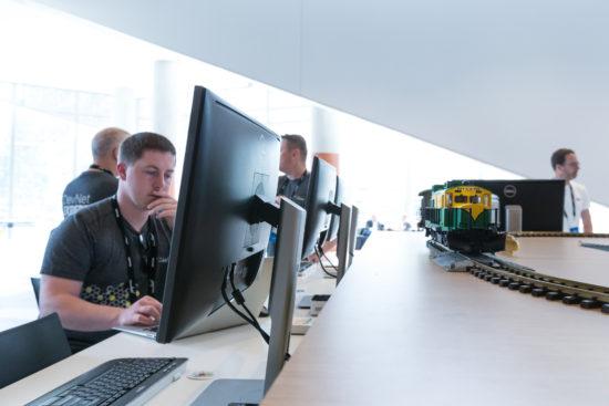 DevNet Zone trains