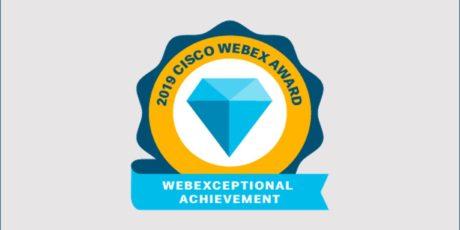 2019 Cisco Webex Awards