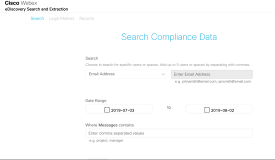 Secure and Compliant Collaboration with Webex Teams