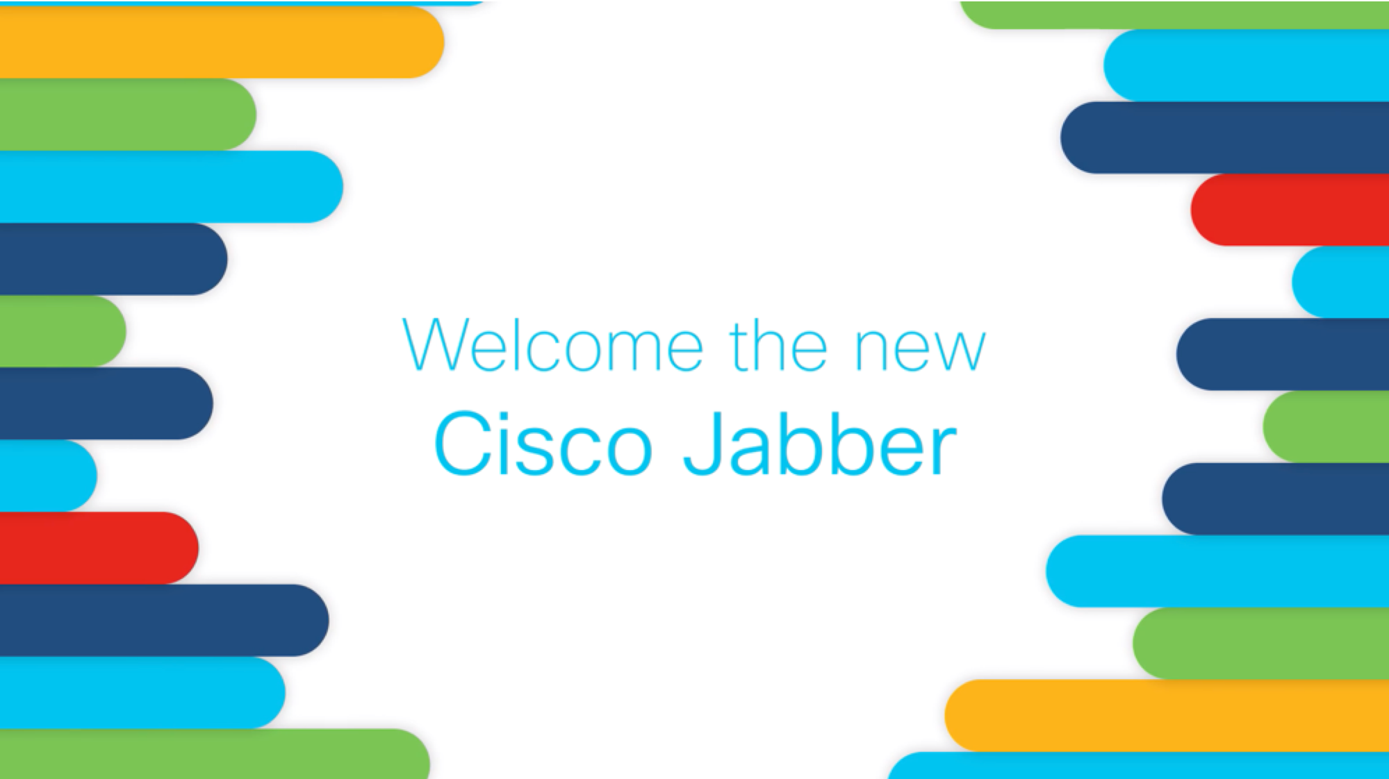 Welcome to the new Cisco Jabber