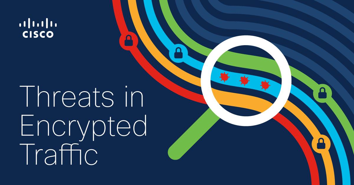 Threats in encrypted traffic