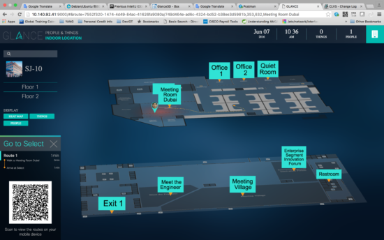 Glance multi floor 3D
