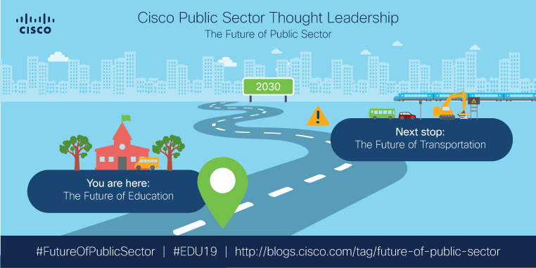 Roadmap for the future of public sector series: Future of Education stop