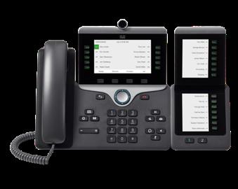 Cisco 10-line Cisco 8800 Series IP Phones