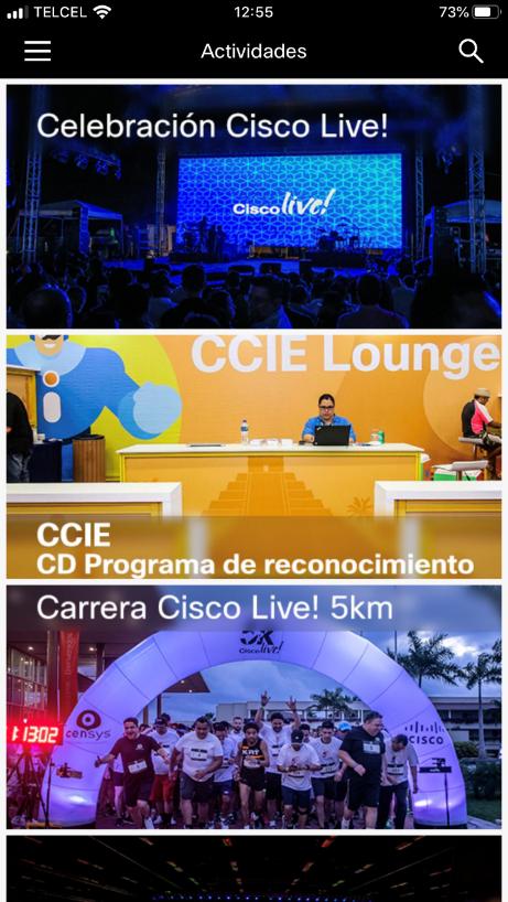 Cisco Live Cancun mobile app
