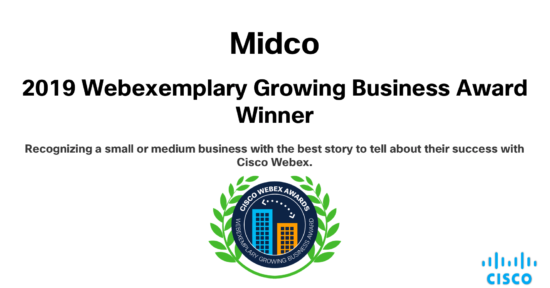 Recognizing a small or medium business with the best story to tell about their success with Cisco WEbex