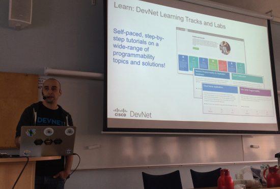 Adrian Iliesiu Cisco DevNet NetAcad Instructor Engineer Developer Training