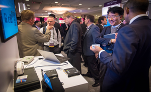 Interest was high at last year's Innovation Grand Challenge demonstrations at the IoTWF.