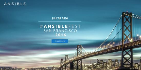 AnsibleFestJuly2016
