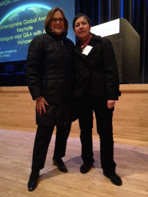 Astronaut Kate Sullivan & Cisco CTO Monique Morrow