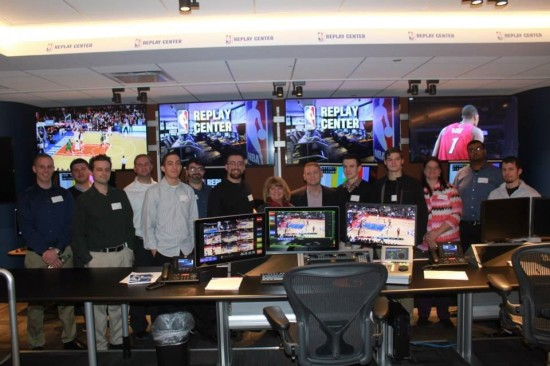 The Cisco Networking Academy Dream Team visited the NBA offices earlier this week