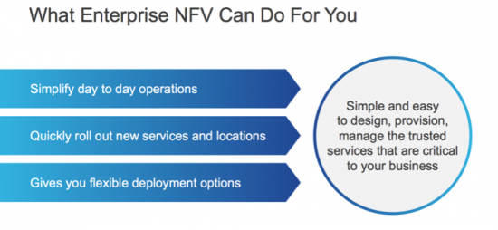 Some of the benefits that enterprises can gain from Enterprise NFV