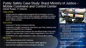 Brazil Ministry of Justice - Mobile Command and Control Center - Click to learn more!