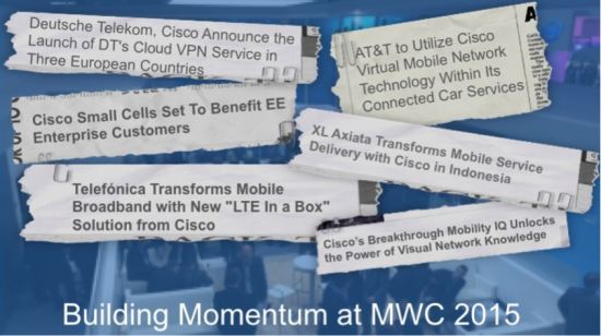Building Momentum at MWC 2015