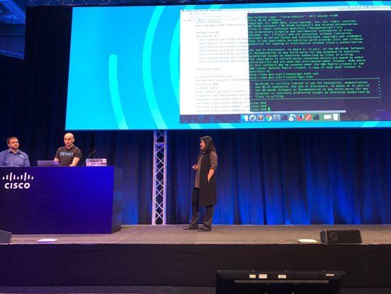 Cisco Live Europe Developer Demo Hank Adrian Susie