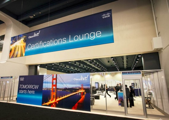 CLUS certification lounge