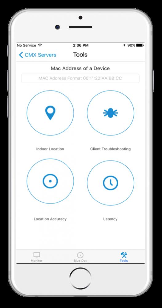 CMX Admin mobile app screenshot 3 with iPhone bezel