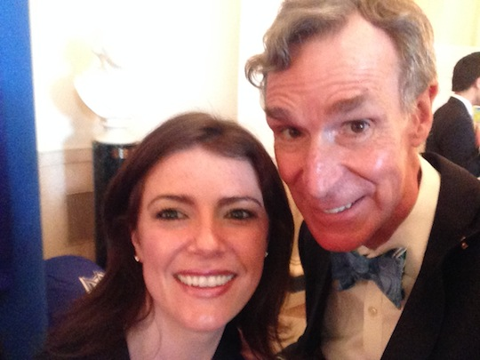 Selfie with Bill Nye the Science Guy