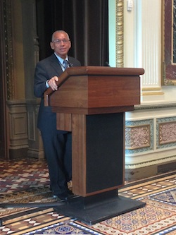 Former astronaut and current NASA administrator Charlie Bolden